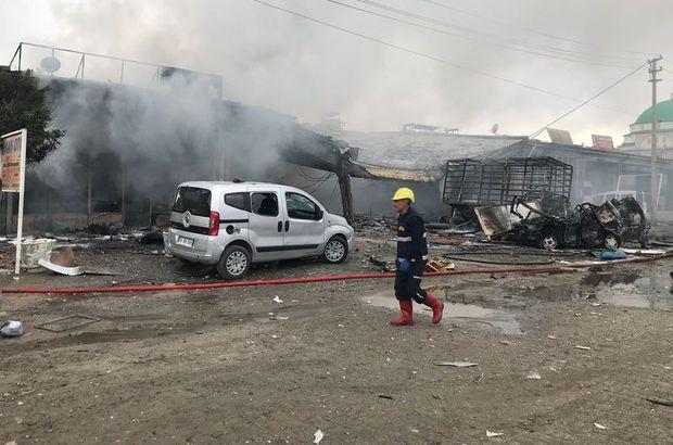 Iğdır'da sanayi sitesinde patlama! Ölü sayısı 4'e çıktı