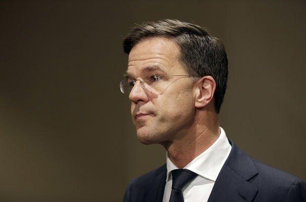 Hollanda Başbakanı Rutte'den skandal Türkiye açıklaması!