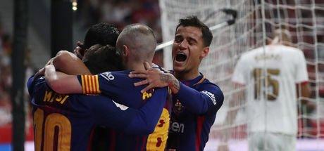 Barcelona: 5 - Sevilla: 0 MAÇ SONUCU! Kral Kupası, Barcelona'nın!