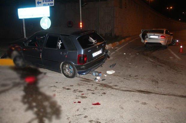 Elazığ'da trafik kazası! 4 kişi yaralandı