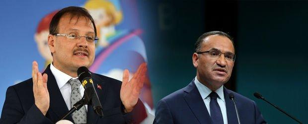 Hakan Çavuşoğlu ve Bekir Bozdağ'dan CHP-İYİ Parti işbirliğine tepki