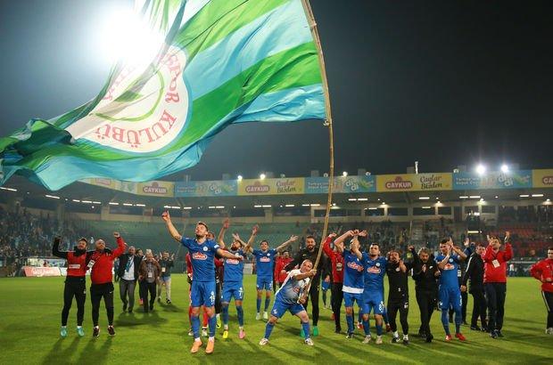 Çaykur Rizespor, Süper Lig'e çok yakın!