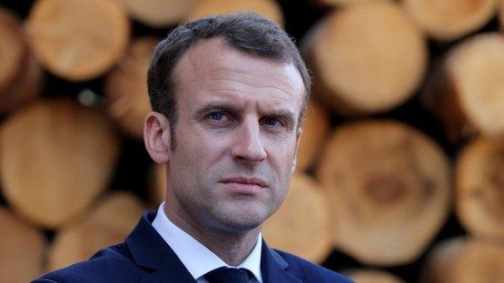 Macron'dan Suriye açıklaması