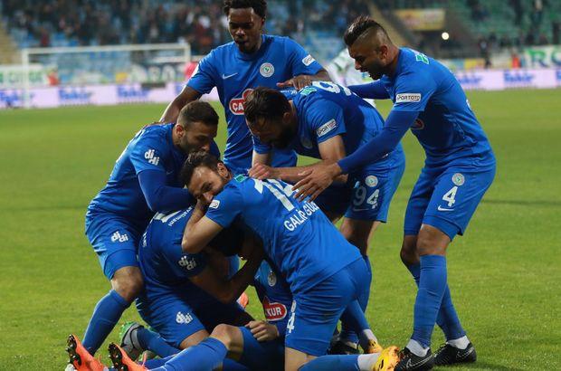 Çaykur Rizespor'da Süper Lig heyecanı