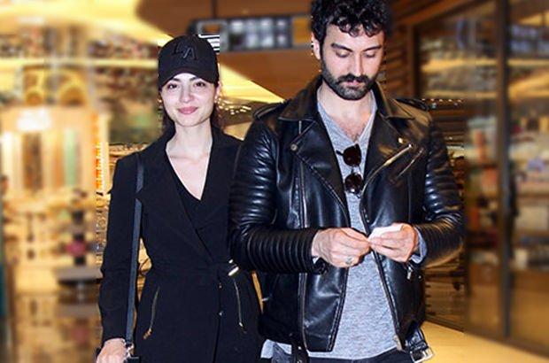 'Çukur'un 'Cemil'i Tolga Sala ile sevgilisi Melisa Aslı Pamuk'un sinema keyfi - Magazin haberleri
