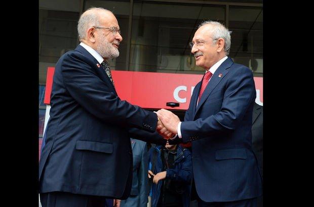 CHP ile Saadet Partisi liderlerinden kritik görüşme sonrası ortak açıklama