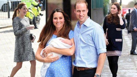 Kraliyette doğum sevinci... Kate Middleton üçüncü çocuğunu dünyaya getirdi