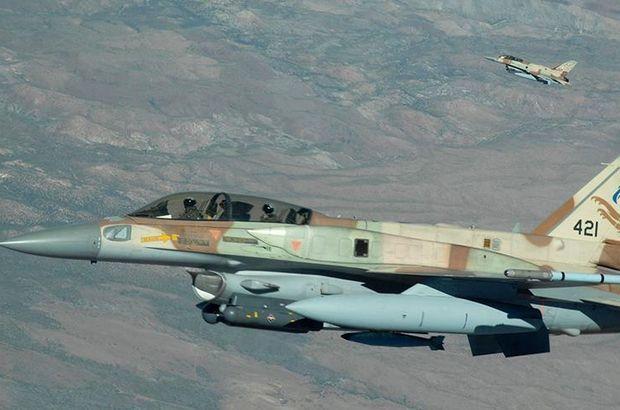 İsrail Suriye'deki bir hedefi vurdu