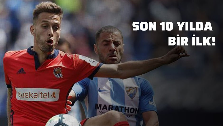 Real Sociedad tarihe geçti!