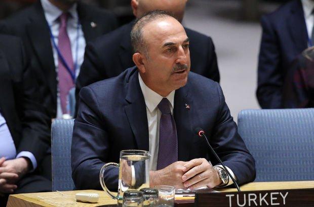 Çavuşoğlu BMGK'da Avrupalı liderleri uyardı