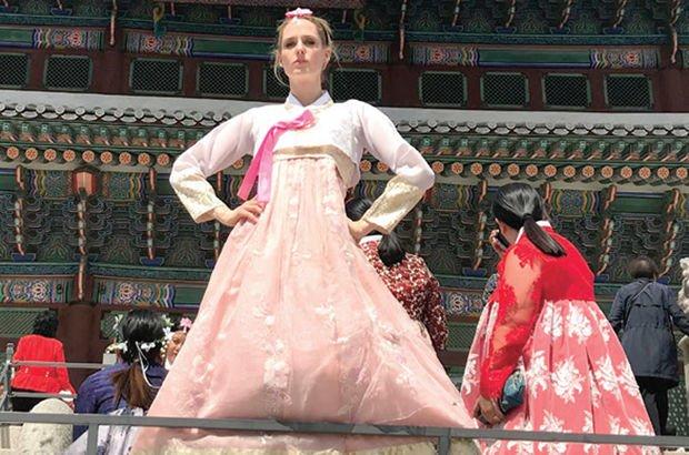 23 Nisan'ı Kore'de kutladı
