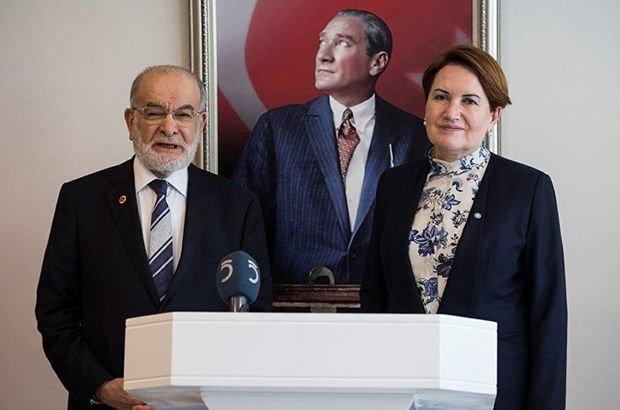 Akşener ile Karamollaoğlu'ndan ortak açıklama
