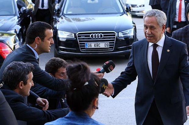 Son dakika: Sürpriz görüşme sonrası Bülent Arınç'tan ilk açıklama!