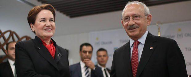 Kılıçdaroğlu ile Akşener yarın bir araya gelecek