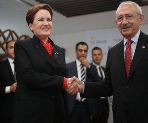 Kılıçdaroğlu ile Akşener bugün bir araya gelecek