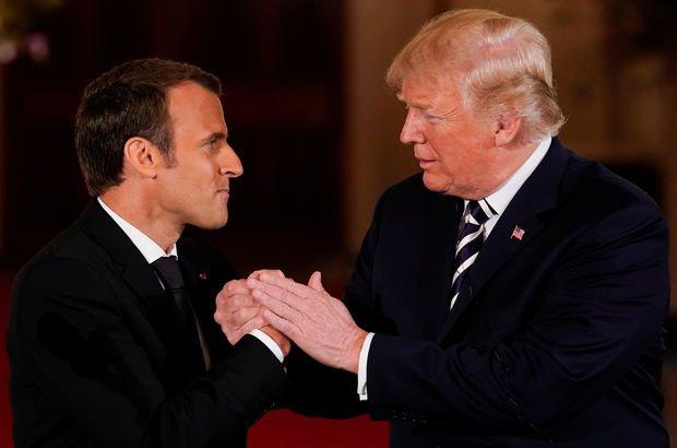 Trump ve Macron görüşmesinden yeni İran anlaşması mesajı