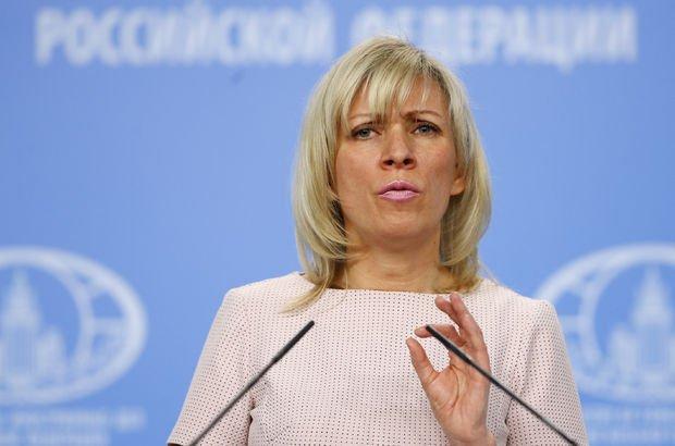 Rusya aleyhine yürütülen propagandalara Zaharova'dan yanıt!
