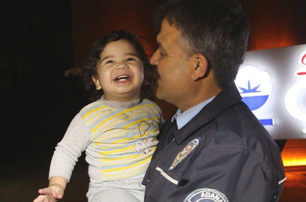 2 yaşındaki bebek evden kaçtı!