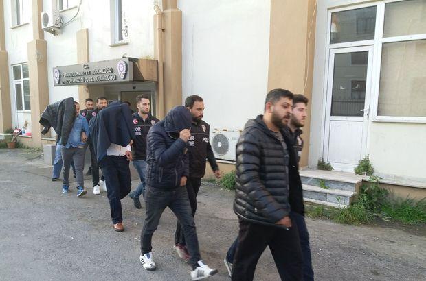 Fenerbahçe-Beşiktaş derbisinin zanlıları mahkemeye götürüldü