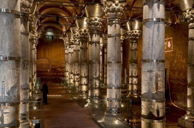 1600 yıllık Şerefiye Sarnıcı ziyarete açıldı