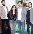 Michael Önder'in yazıp yönettiği 'Taksim Hold'em'in özel gösterimine sanat ve medya camiasından birçok isim katıldı. Filmin kadrosu, gösterim öncesi objektiflere poz verdi