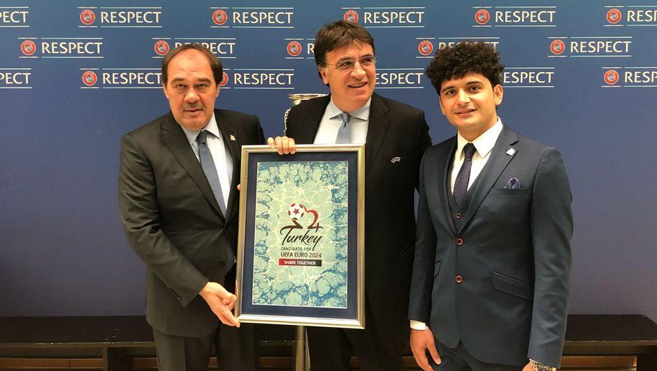 TFF, UEFA EURO 2024 adaylık dosyasını sundu