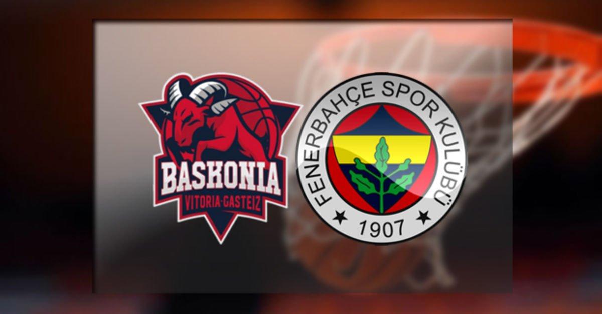 Baskonia - Fenerbahçe Doğuş maçı hangi kanalda, saat kaçta? Nefesler tutuldu! | EuroLeague Haberleri
