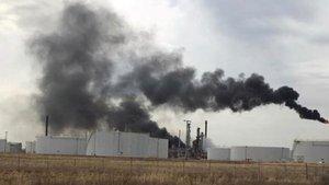 ABD'de petrol rafinerisinde patlama