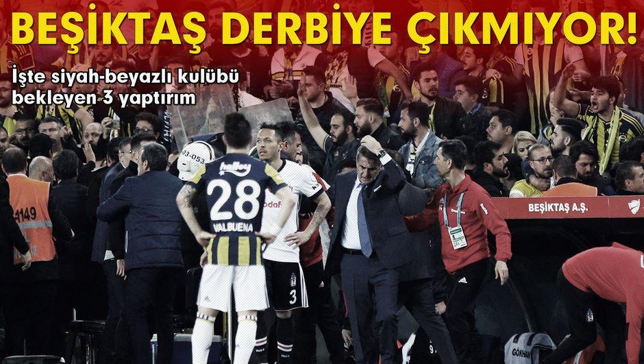 Beşiktaştan tarihi karar! Fenerbahçe derbisi...