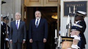 Liberman ABD Savunma Bakanı Mattis ile görüştü