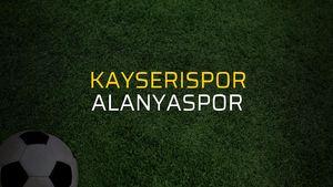 Kayserispor - Alanyaspor maçı heyecanı