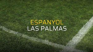 Espanyol - Las Palmas rakamlar
