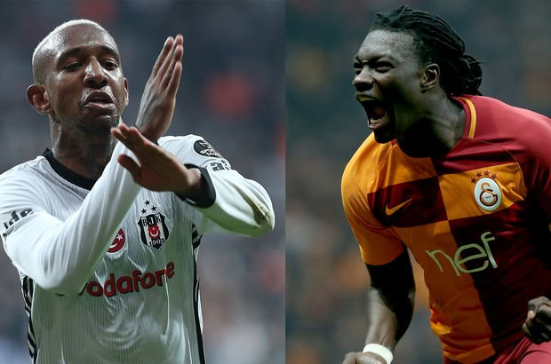 Galatasaray Gomis'e, Beşiktaş Talisca'ya güveniyor