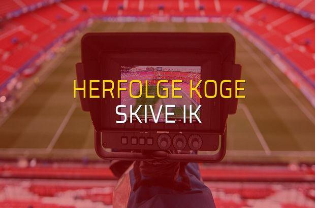 Herfolge Koge - Skive IK sahaya çıkıyor