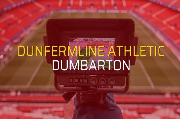 Dunfermline Athletic - Dumbarton maçı heyecanı