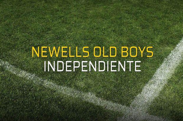 Newells Old Boys - Independiente karşılaşma önü