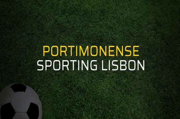 Portimonense - Sporting Lisbon maçı rakamları