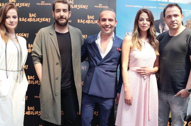 Film ekibi, 'Kaç Kaçabilirsen'i tanıttı - Magazin haberleri