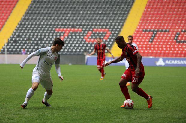 Gazişehir Gaziantep: 0 - Balıkesirspor Baltok: 2 MAÇ SONUCU