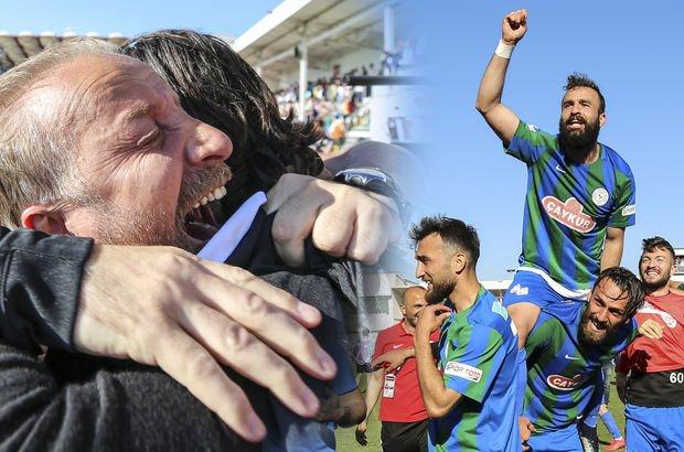 Son dakika! Spor Toto 1. Lig'de şampiyon oldu! Çaykur Rizespor şampiyon...