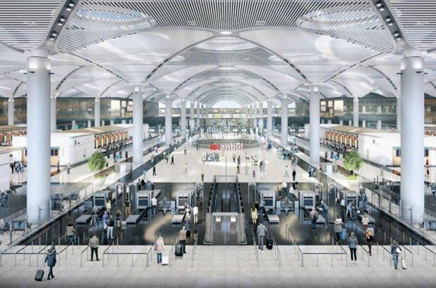 İstanbul Yeni Havalimanı'nda 9 bin güvenlik kamerası yer alacak