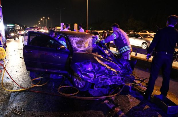 Tuzla'da trafik kazası: 1 ölü 1 yaralı