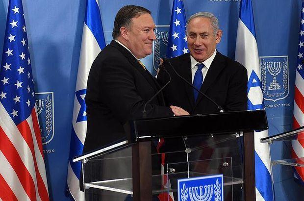 ABD Dışişleri Bakanı'ndan Netanyahu'ya: Kalbimde özel bir yeriniz var