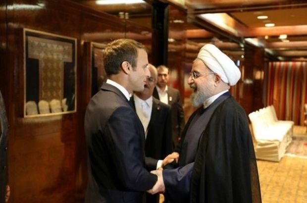 Macron ve Ruhani telefonda görüştü