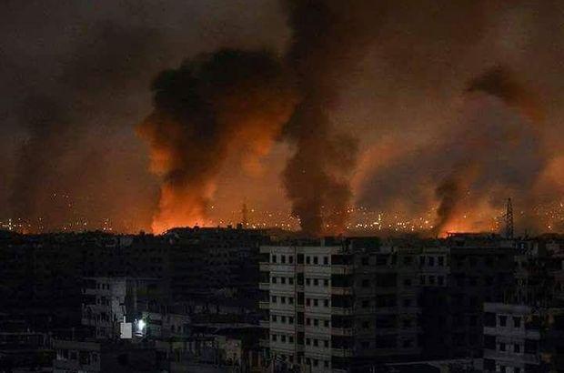 Esad rejimine ait iki üs vuruldu! Onlarca ölü ve yaralı var...