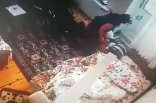 Yaşlı kadını darp eden bakıcı yeniden gözaltına alındı