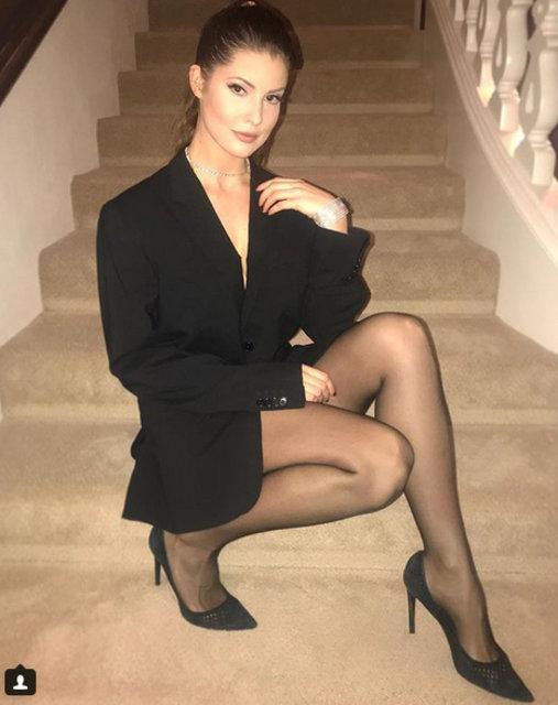 Amanda Cerny sosyal medyayı salladı - Magazin haberleri