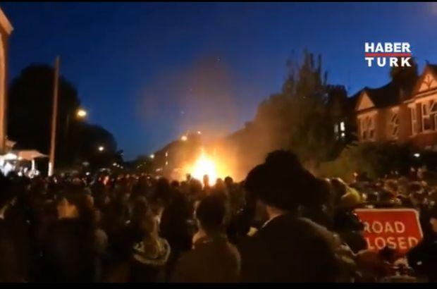 Son dakika: Londra'nın kuzeyinde patlama! Çok sayıda yaralı var...