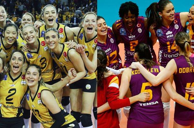 VakıfBank ve Galatasaray