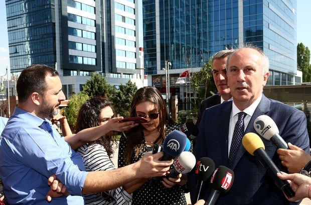 CHP'nin adayı olduğu söylenen İnce'den açıklama
